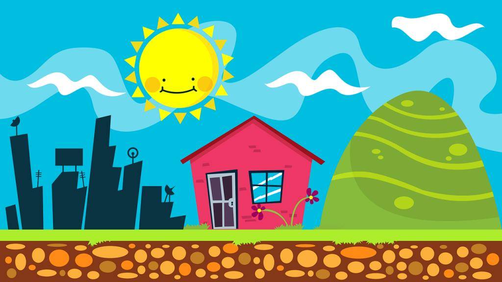 Bergvärme - Naturen lagrar solvärme åt oss i luft, vatten, jord och berg.
